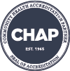 HPC Specialty Pharmacy is accredited through CHAP